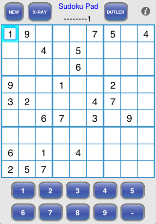 Screenshot Sudoku Pad